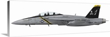 Illustration of an F/A-18F Super Hornet