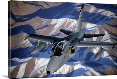 KC10A Extender after refueling over Afghanistan