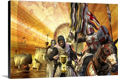 Knights Templar are on a mission to collect relics for their nation