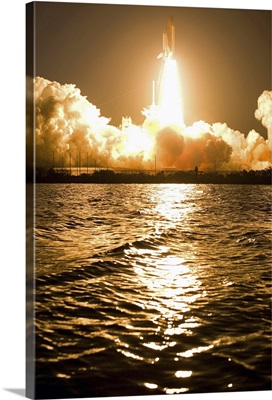 Liftoff of Space Shuttle Discovery