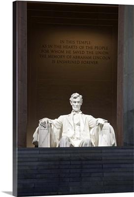 Lincoln Memorial, Washinton D.C., USA