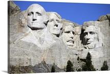 Mount Rushmore National Memorial, South Dakota, USA