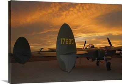 P-38 Lightning, San Bernadino, California
