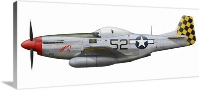 P-51D Mustang, nicknamed Shimmy IV