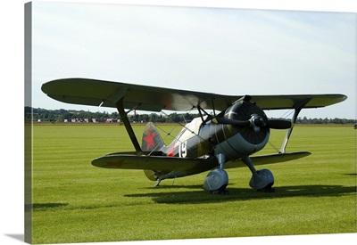 Polikarpov I-15 soviet fighter biplane