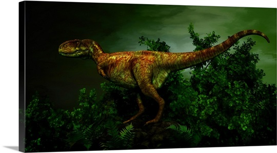 The Tyrannosaur Daspletosaurus