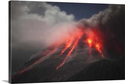 Soufriere Hills eruption Montserrat Island Caribbean