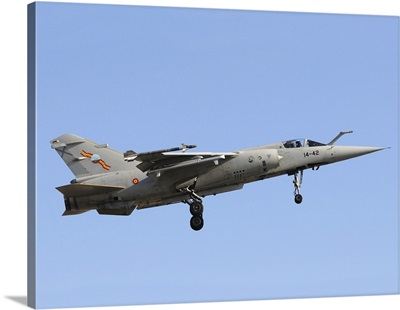 Spanish Air Force Mirge F-1M taking off