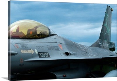 The F16 aircraft of the Belgian Army