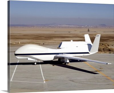 The Global Hawk unmanned aircraft