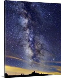 The Milky Way in Serra da Estrela Portugal
