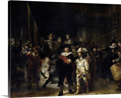 The Night Watch painting by Rembrandt van Rijn