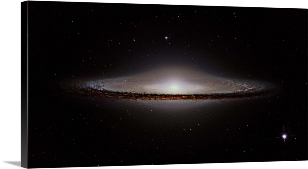 The Sombrero Galaxy Wall Art Canvas Prints Framed Prints Wall
