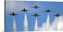 The United States Air Force Demonstration Team Thunderbirds