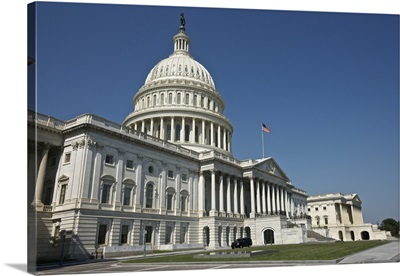 The United States Capitol building, Washinton D.C., USA