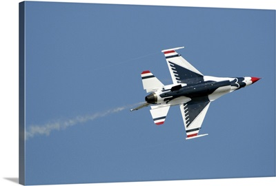 The US Air Force Thunderbirds perform during the 2009 air show