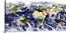 Truecolor image of the entire Earth