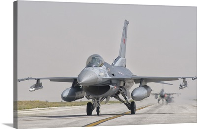 Turkish Air Force F-16 during Exercise Anatolian Eagle