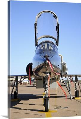 U.S. Air Force T-38 Talon at Sheppard Air Force Base, Texas