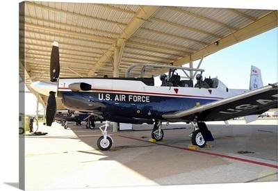 U.S. Air Force T-6A Texan at Sheppard Air Force Base, Texas