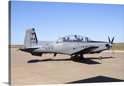 U.S. Air Force T-6A Texan II at Sheppard Air Force Base, Texas