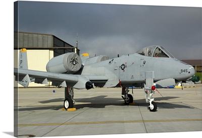U.S. Air Forces Europe A-10 Thunderbolt II at Spangdahlem Air Base, Germany