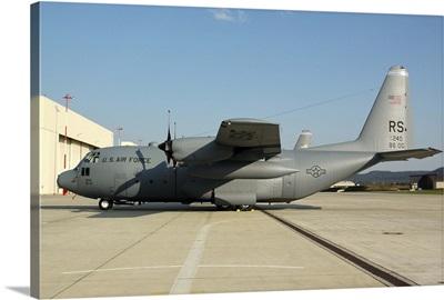 U.S. Air Forces Europe C-130 Hercules at Ramstein Air Base, Germany