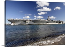 USS Abraham Lincoln returning to port