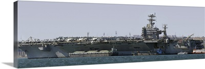 USS Carl Vinson in Lisbon