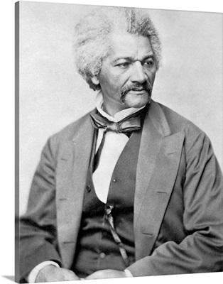Vintage American Civil War print of Frederick Douglass