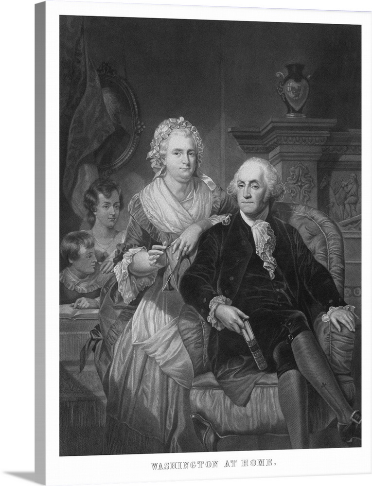 photo about Printable Pictures of George Washington named Basic American Heritage print of President George Washington and his loved ones
