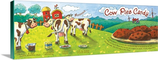 Cow Pies Candy by Jasmine Wall from Brampton, Canada