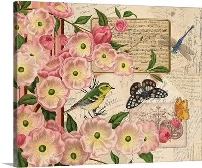 Cherry Blossom Botanical I