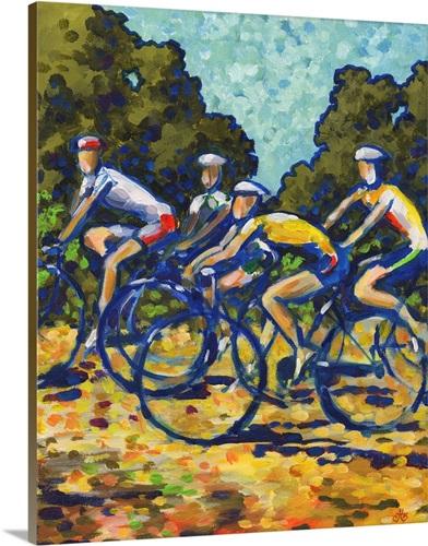Cycling Wall Art, Canvas Prints, Framed Prints, Wall Peels | Great ...
