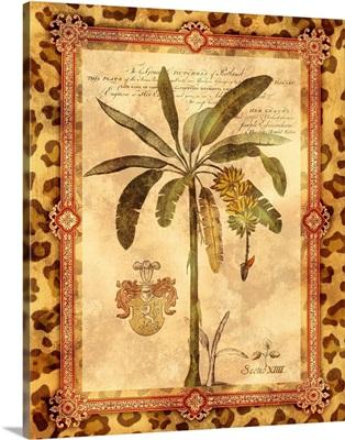 Leopard Print Palm I