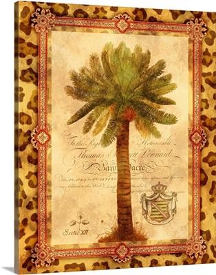 Leopard Print Palm II