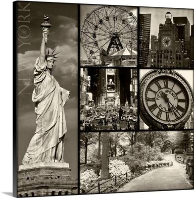 New York Patchwork IV