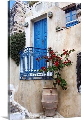 Santorini Doorway I