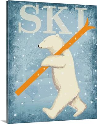 Ski Polar Bear I