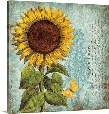 Sunflower Damask I