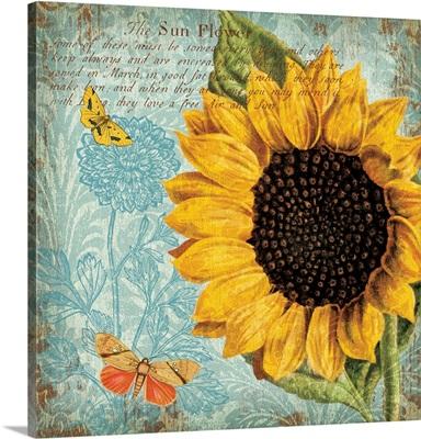 Sunflower Damask II