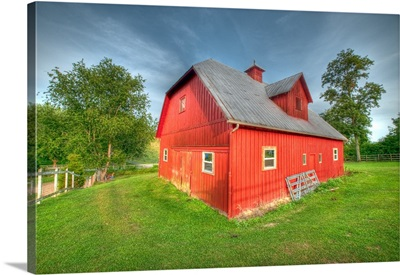 Barn In Red