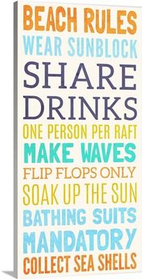 Beach Rules I