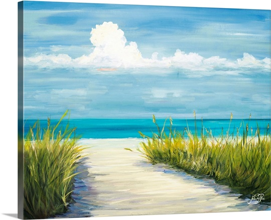 beach scene i wall art canvas prints framed prints wall peels great big canvas. Black Bedroom Furniture Sets. Home Design Ideas
