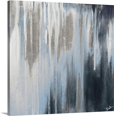 Blue and Silver Paysage I