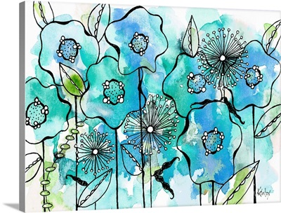 Blue Tone Garden