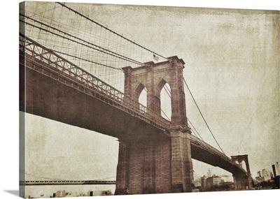 Bridge of Brooklyn Sepia I