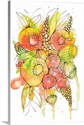 Bursting Wildflowers II