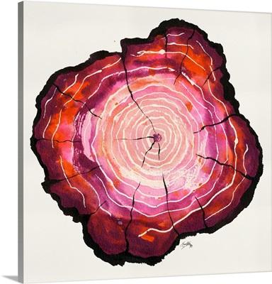 Colored Tree Trunk II