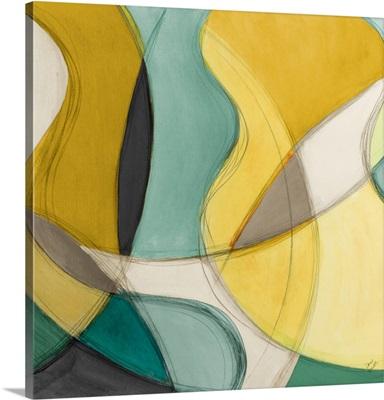Curving Color Square I